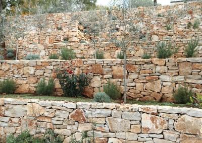 vrt u terasama