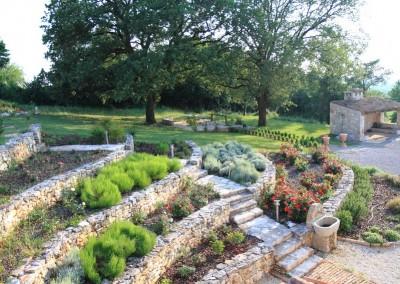 terase, vrt u nivoima